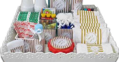 kit decoracao casamento:Kit de banheiro – Decoração